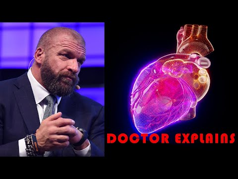 Doctor explains news: triple h heart surgery? Wwe issues a statement! Triple h 'cardiac event'