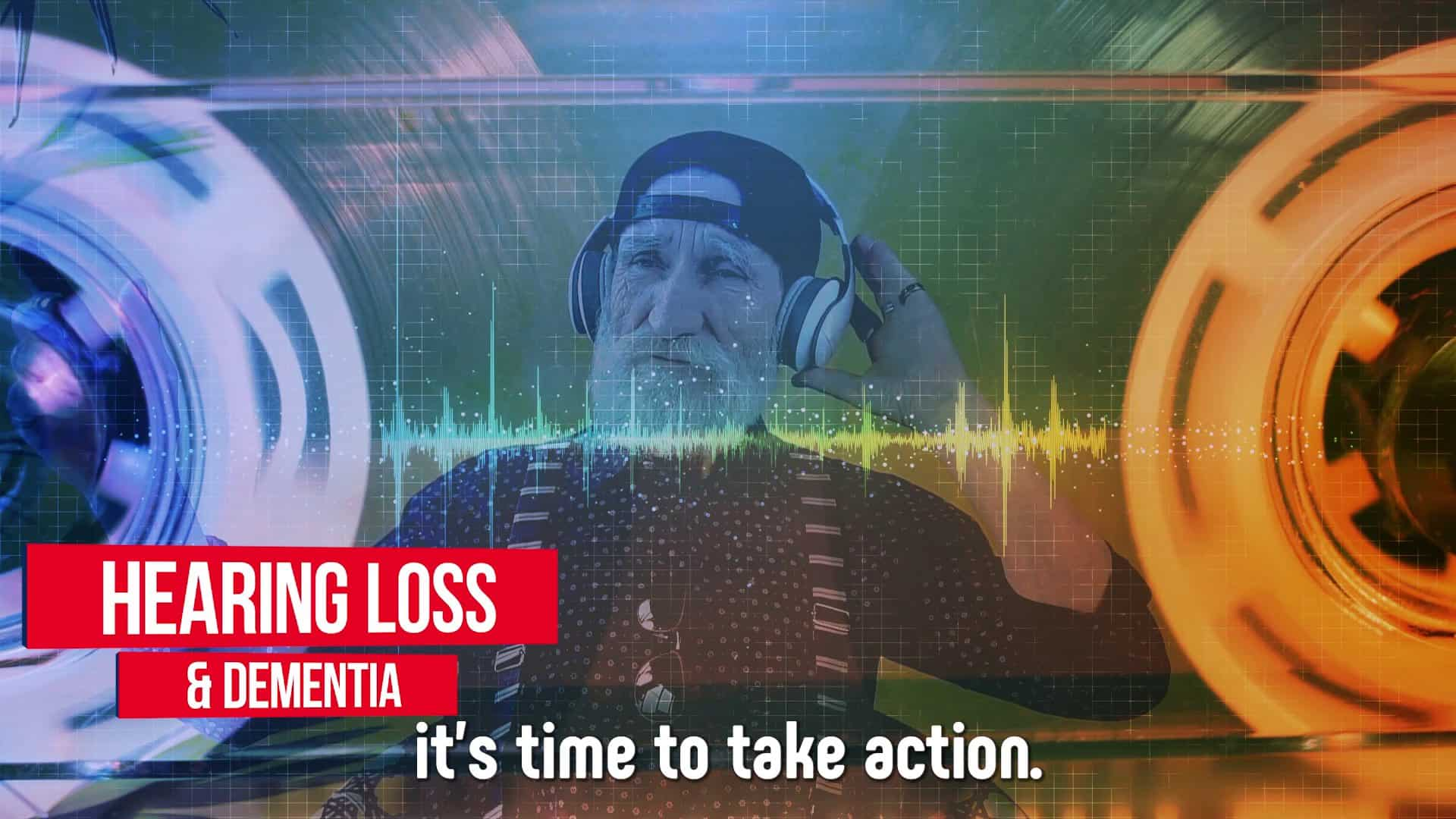Hearing loss can lead to dementia