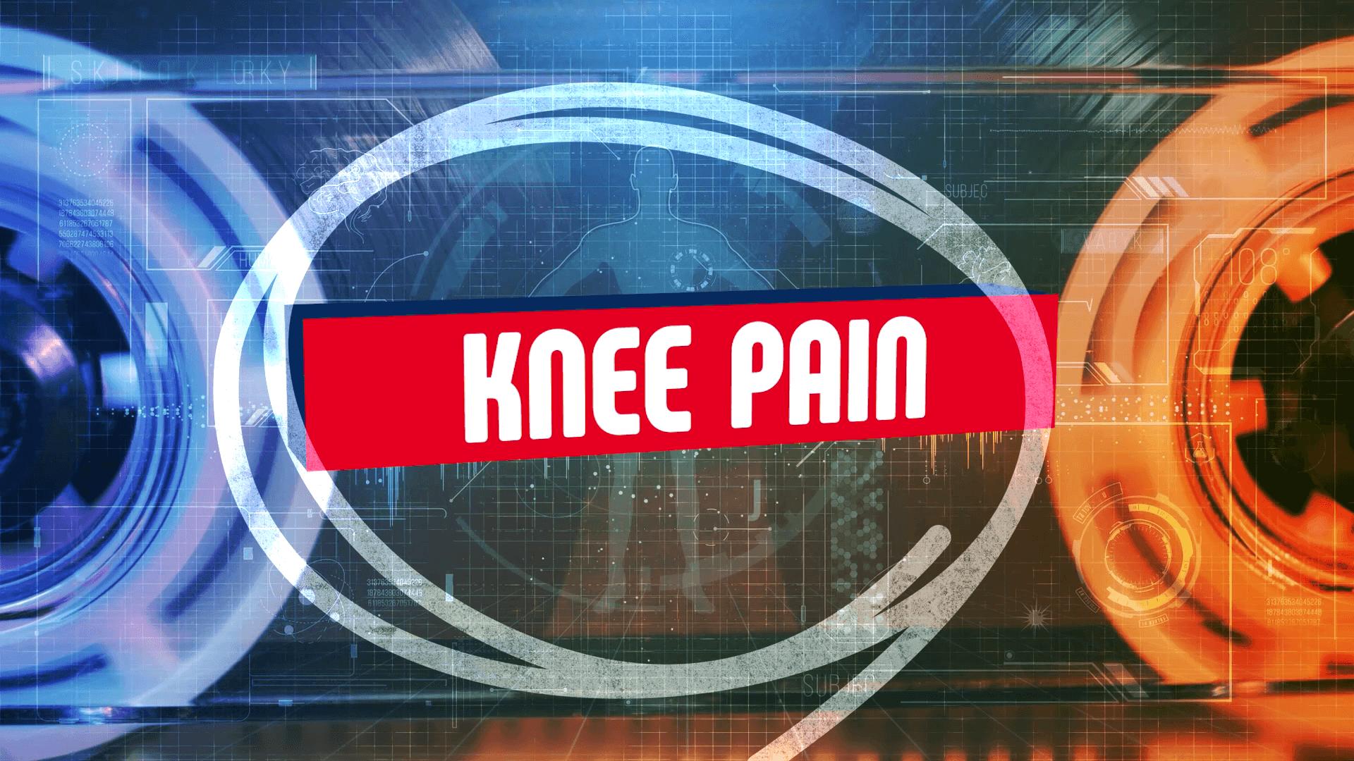 Uncommon knee pain