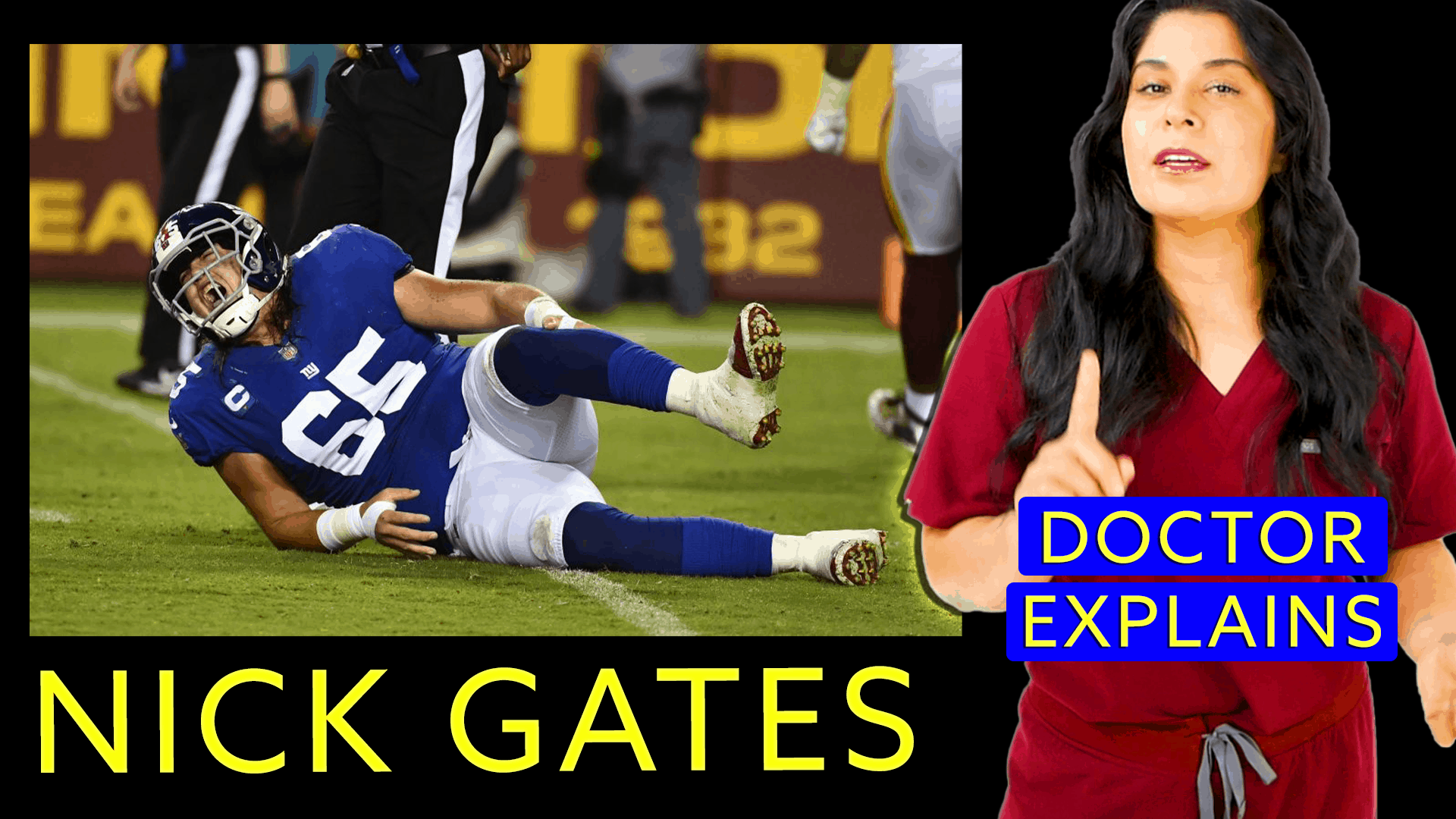 Nick gates injury